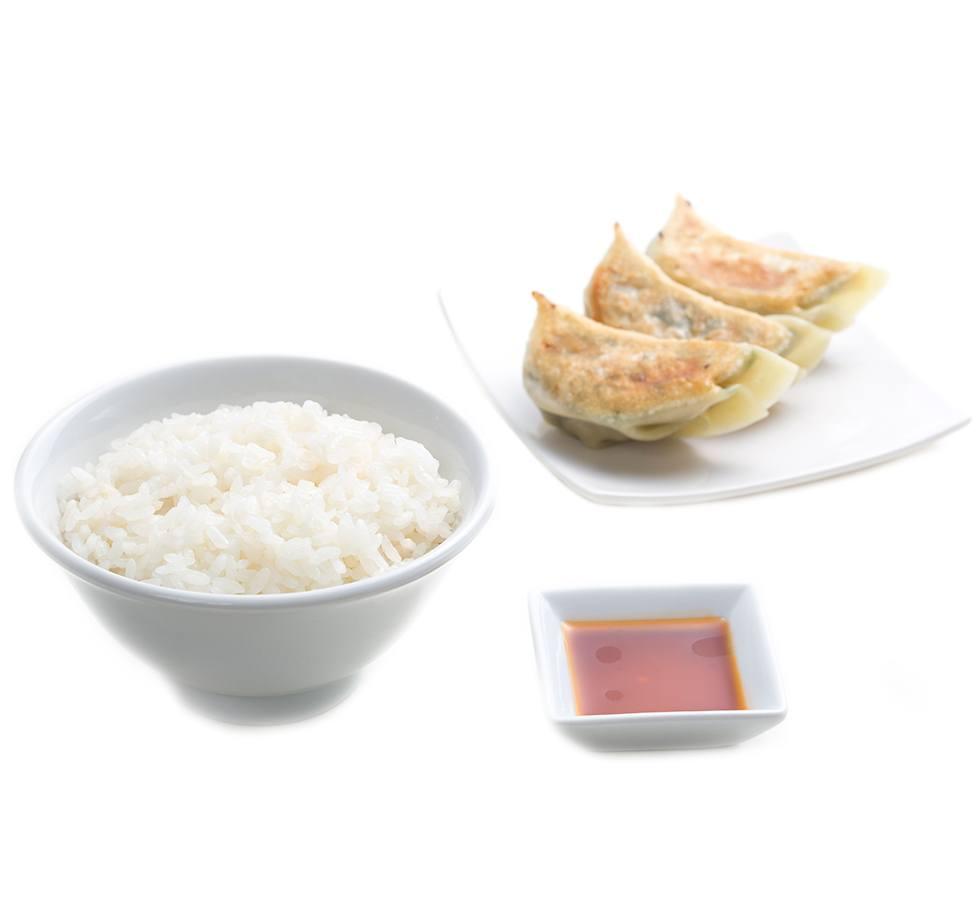 餃子&ライスセット